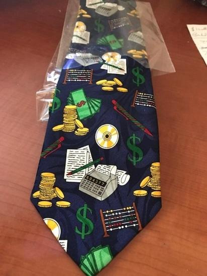Brand new novelty mathematic necktie