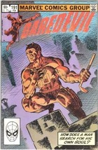 Daredevil Comic Book #191 Marvel Comics 1983 VERY FINE/NEAR MINT NEW UNREAD - $9.74
