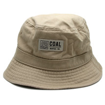Coal Headwear Seattle Washington Khaki Colored Bucket Hat Sunhat Outdoor... - $13.98
