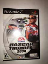 NASCAR THUNDER 2004 PS2 PLAYSTATION 2-TESTED COLLECTIBLE FAST SHIP IN 24... - $11.52