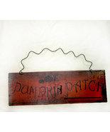 Pumpkin Patch Tin Decorative Fall Sign - $7.95