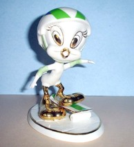 Lenox Tweety Skateboarding Looney Tunes Bird Figurine 847641 New In Box - £83.55 GBP