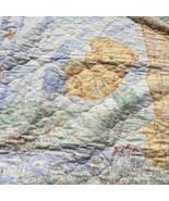"Rambling Ted Quilt Handmade Crib Blanket Comforter 31"" x 43"" - $19.34"
