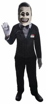 NEW Salesman Creepy Pasta Halloween Costume Cosplay Boys Medium 8-10 Lar... - $17.95