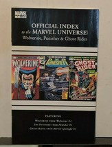 Wolverine Punisher and Ghost Rider Official Index To The Marvel Universe... - $18.90