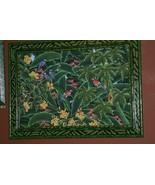 Hand painted Custom Framed Original Canvas Signed Art Parrots Jungle DFB... - $664.99