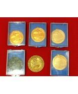 Vtg 1967 University of Evansville 5+ Swimming Medals 100 200 400 800 meter - $50.00