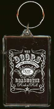 The Doors of the 21st Century Lucite Key Chain New Bonanza