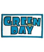 Green Day Iron-On Patch Block Letters Logo Punk New - $8.69