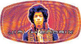 Jimi Hendrix Vinyl Sticker Trippy Logo New - $7.52