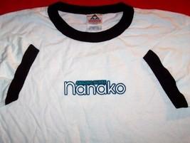 Amazing Nurse Nanako Ringer T-Shirt White Size Large - $14.99