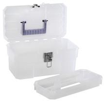 Akro-Mils 09514 CFT 14-Inch Plastic Art Supply Craft Storage Tool Box, S... - $19.27