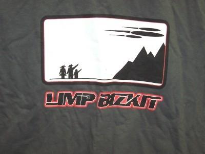 Limp Bizkit T-Shirt Space Ship Gray Size XL and 30 similar items 0503f0401231