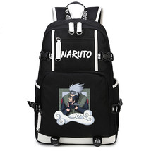 Naruto Theme Fighting Anime Series Backpack Schoolbag Daypack Bookbag Kakashi - $36.99