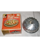 Vintage Vegetable Steamer Basket NIB - $7.75