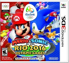Mario & Sonic at the Rio 2016 Olympic Games - Nintendo 3DS Standard Edition - $39.34
