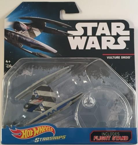 Hot Wheels Star Wars Starship Vulture Droid Die-Cast Vehicle Mattel DRX11