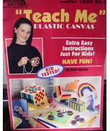 """Teach Me Plastic Canvas"" Booklet - $5.00"