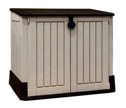 GARDEN STORAGE SHED ALL WEATHER TOOLS UTILITY BACKYARD OUTDOOR FREE UK S... - $172.11