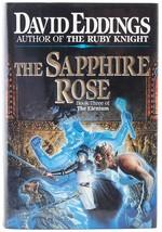David Eddings The Sapphire Rose Book 3 The Elenium HC 1st First Edition - $5.00
