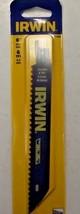 "Irwin 372606 6"" x 6TPI Wood Cutting Reciprocating Saw Blade USA - $1.24"