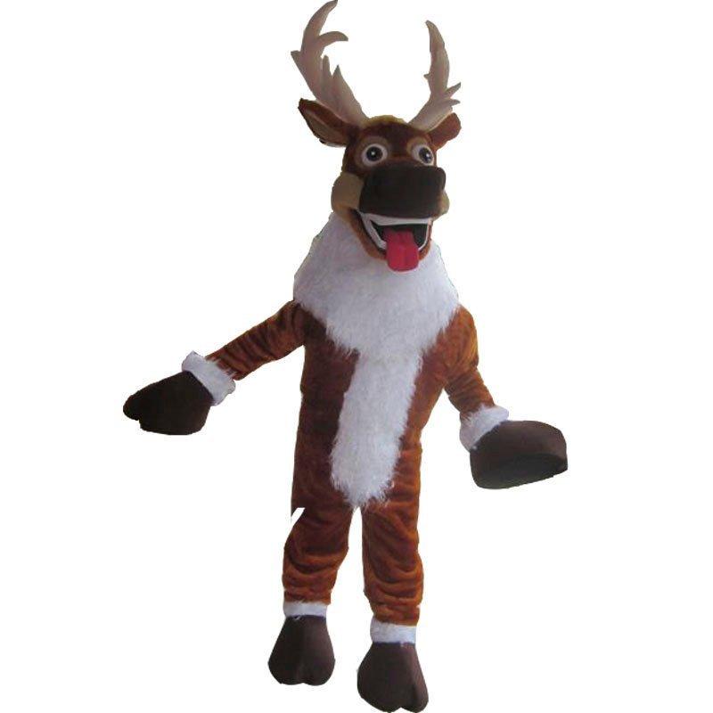 Christmas Reindeer Mascot Costume Adult Christmas Costume For Sale