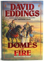 David Eddings Domes of Fire Book 1 The Tamuli HC 1st First Edition - $5.00