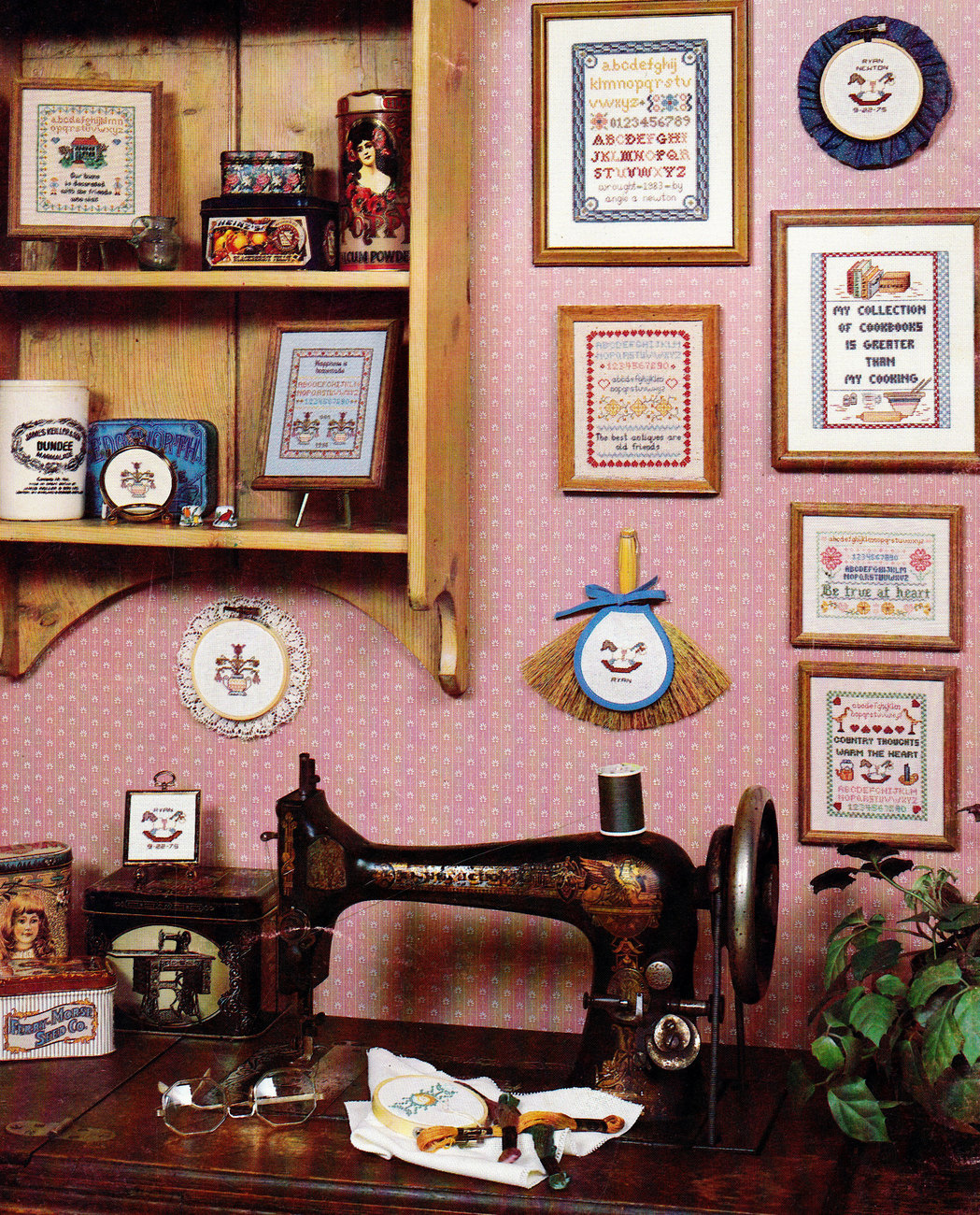 CROSS STITCH MINI COUNTRY SAMPLERS COLLECTION ONE