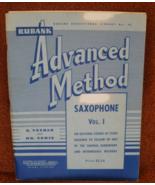 Advanced Method for Sax - Vol 1 - Voxman - $8.50