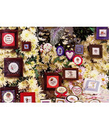 CROSS STITCH MINI THOUGHTS & MORE BY ANGIE NEWTON - $3.50