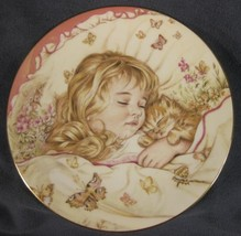 Monday's Child Is Fair Of Face Collector Plate A Child's Blessing Pam Co... - $17.95