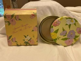 AVON PANSY PATCH MINT TIN 1983 - $5.76