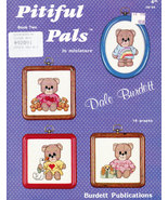 CROSS STITCH DALE BURDETT PITIFUL PALS BOOK ONE - $5.50