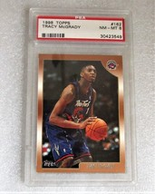 Graded 1998 Topps Tracy Mc Grady Basketball Card! Hall Of Fame To Raptors 2d Year - $3.71