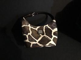 DOONEY & BOURKE Authentic Giraffe-Pattern Hobo Mini Purse  W/ Serial Number - $37.38