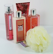 Bath Body Works Wrapped in Sugar Gift Set Shower Gel Cream Mist Lotion Spray New - $41.95
