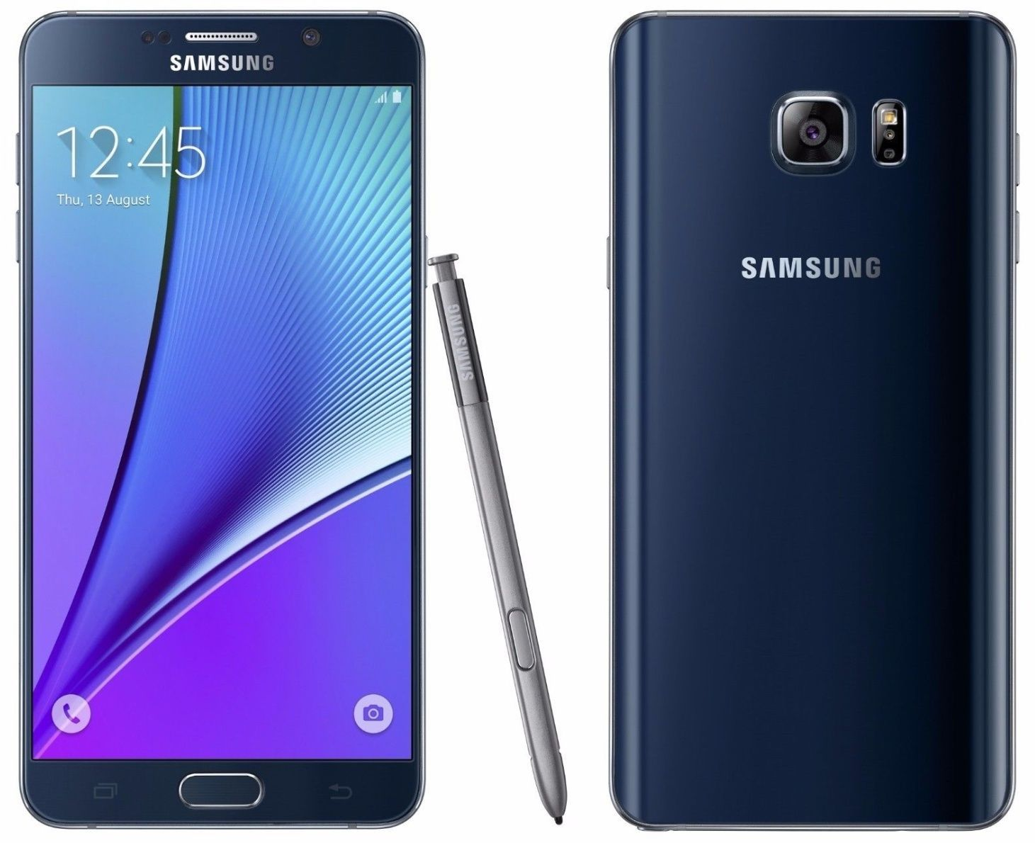 Samsung Galaxy Note 5 SM-N920S 32GB UNLOCKED Black Note5 Mobile