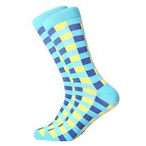 1631C man socks color combed cotton autumn winter warm breathble couple ... - $26.91