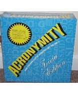 ACRONYMITY Board Game TRIVIA EDITION! NEW & SEALED! - $39.96