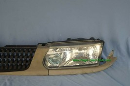 93-94 Nissan Tsuru Sunny Sentra B13 Headlights Head Light Lamps Set L&R w/ Grill image 2