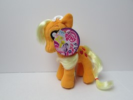 "APPLEJACK 6.5"" Plush Doll My Little Pony Aurora Mylar Hair NEW NWT MLP B... - $4.99"