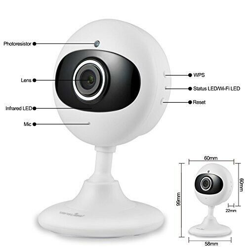 Primary image for WANSVIEW WIRELESS IP HD CAMERA FOR BABY, PET, SECURITY W/ NIGHT VISION & AUDIO