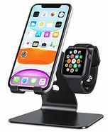Apple Watch Stand, OMOTON 2 in 1 Universal Desktop Stand Holder for iPho... - $11.87