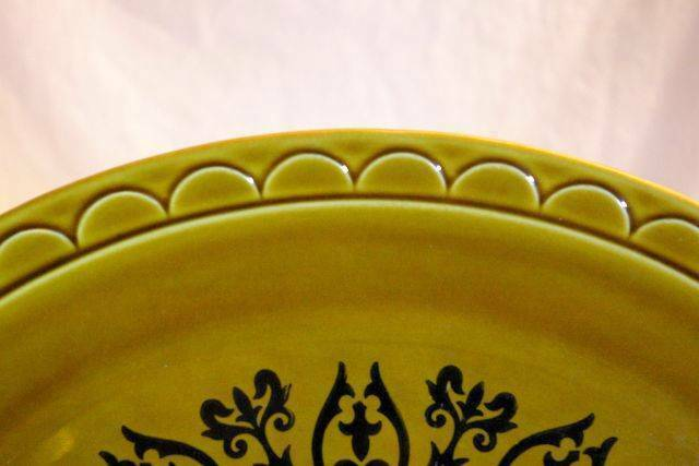 "Homer Laughlin Coventry Castilian Berry Fruit Dessert Bowl 6 1/8"" Grenada Line image 3"