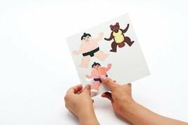 Paper Sumo by COCHAE Yosuke Jikahara and Miki Takeda Design Game Toy NIB image 2
