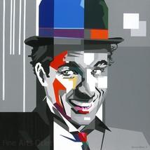 Charlie Chaplin Painting by Gerardo Mendez Patricio - $800.00+