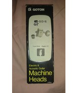 Gotoh Electric & Acoustic Guitar Machine Heads Japan Finished Nickel - $34.97