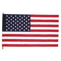 Darice Patriotic Fourth of July USA Flag - Nylon - 28 x 50 inches w - $21.99