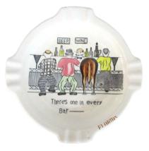 Tacky humor Florida ashtray Horse's Ass in every bar lounge Japan VTG 19... - $14.98
