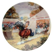 Danbury Mint Thelwells Ponies The Flower Show Horse Plate Pony Plate - $38.15